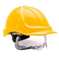 Endurance Visor Helmet (Yellow / R)