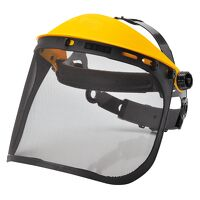 Browguard with Mesh Visor (Black / R)
