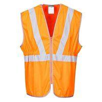Hi-Vis Long Vest RIS (Orange / 3 XL / R)