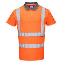 Hi-Vis Short Sleeved Polo RIS (Orange / XXL / R)