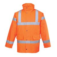 Hi-Vis Traffic Jacket (Orange / XXL / R)