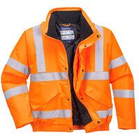 Hi-Vis Bomber Jacket RIS (Orange / 5XL / R)