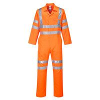 Hi-Vis Poly-cotton Coverall RIS (Orange / 4XL / R)