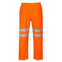 Hi-Vis Breathable Trousers (Orange / 5XL / R)