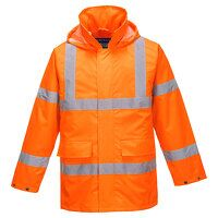 Hi-Vis Lite Traffic Jacket (Orange / Small / R)