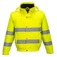 Hi-Vis Lite Bomber Jacket (Yellow / 3 XL / R)