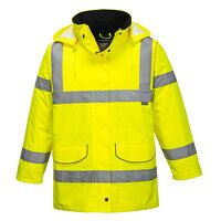 Hi-Vis Ladies Traffic Jacket (Yellow / XL / R)