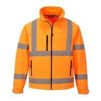Hi-Vis Classic Softshell Jacket (3L) (Orange / Lar...