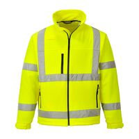 Hi-Vis Classic Softshell Jacket (3L) (Yellow / 3 X...
