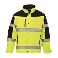 Two Tone Softshell Jacket (3L) (Yellow / XL / R)