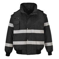 Iona 3 in 1 Bomber Jacket (Black / XXL / R)