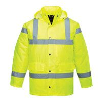 Hi-Vis Traffic Jacket (Yellow / XXL / R)