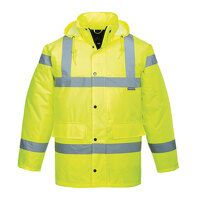 Hi-Vis Breathable Jacket (Yellow / Medium / R)