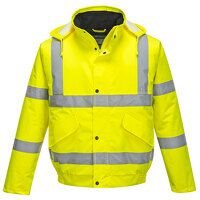 Hi-Vis Bomber Jacket (Yellow / 8XL / R)