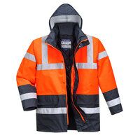 Hi-Vis Contrast Traffic Jacket (ReNa / 3 XL / R)