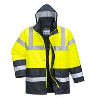 Hi-Vis Contrast Traffic Jacket (Yellow / Large / R...