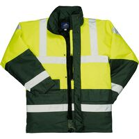 Hi-Vis Contrast Traffic Jacket (YeGree / XSmall / R)