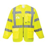 Hi-Vis Executive Jacket (Yellow / Large / R)