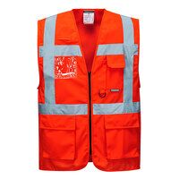 Berlin Executive Vest (Red / Large / R)