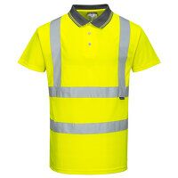 Hi-Vis Short Sleeve Polo (Yellow / XL / R)