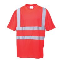 Hi-Vis T-Shirt (Red / Medium / R)
