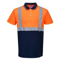 Two-Tone Polo (OrNa / XXL / R)