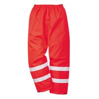 Hi-Vis Traffic Trousers (Red / XXL / R)