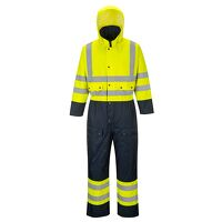 Hi-Vis Contrast Coverall - Lined (YeNa / 5XL / R)
