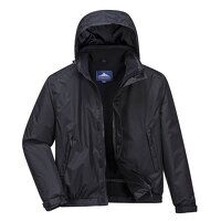 Calais Breathable Bomber Jacket (Black / 3 XL / R)
