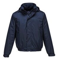Calais Breathable Bomber Jacket (Navy / Large / R)