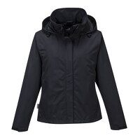 Ladies Corporate Shell Jacket (Black / XSmall / R)