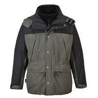 Orkney 3 in 1 Breathable Jacket (Grey / Medium / R...