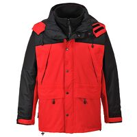 Orkney 3 in 1 Breathable Jacket (Red / Medium / R)