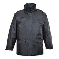 Security Jacket (Black / Small / R)