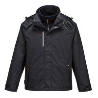 Radial 3 in 1 Jacket (Black / Small / R)