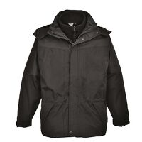 Aviemore 3 in 1 Mens Jacket (Black / Small / R)