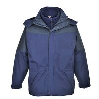 Aviemore 3 in 1 Mens Jacket (Navy / Large / R)