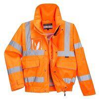 Extreme Bomber Jacket (Orange / Large / R)