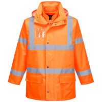 Hi-Vis Essential 5-in-1 Jacket (Orange / Large / R...