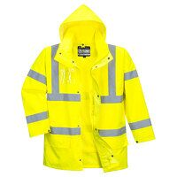 Hi-Vis Essential 5-in-1 Jacket (Yellow / 3 XL / R)
