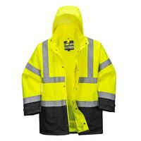 Hi-Vis Executive 5-in-1 Jacket (YeBk / Medium / R)