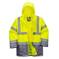 Hi-Vis Executive 5-in-1 Jacket (YeGrey / XL / Y)
