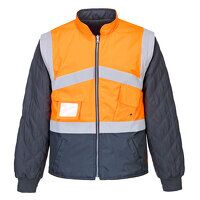 Hi-Vis 2-Tone Jacket - Reversible (OrNa / Large / ...