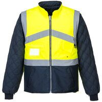 Hi-Vis 2-Tone Jacket - Reversible (YeNa / Large / ...