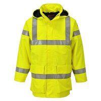 Bizflame Rain Hi-Vis Multi Lite Jacket (Yellow / L...