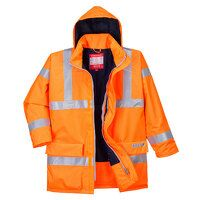 Bizflame Rain Hi-Vis Antistatic FR Jacket (Orange ...
