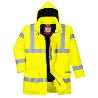 Bizflame Rain Hi-Vis Antistatic FR Jacket (Yellow ...