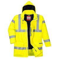 Bizflame Rain Hi-Vis Antistatic FR Jacket (Yellow ...