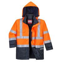 Bizflame Rain Hi-Vis Multi-Protection Jacket (OrNa...