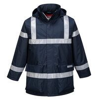 Bizflame Rain Anti-Static FR Jacket (Navy / Medium...